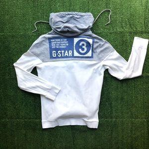G-STAR RAW Denim Southeast District #3 Hoodie Fit